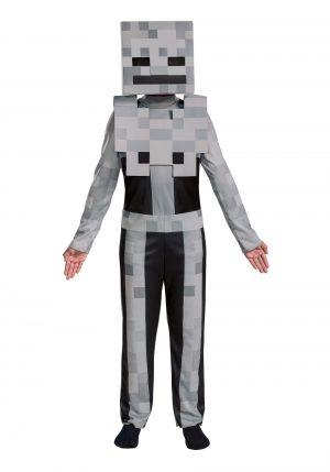 Fantasia de esqueleto do Minecraft – Minecraft Kids Classic Skeleton Costume