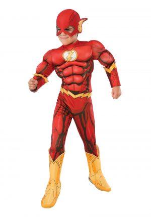 Fantasia de flash infantil –  Deluxe Child Flash Costume