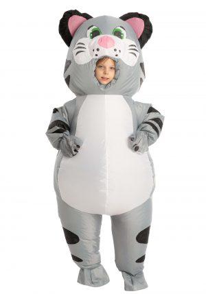 Fantasia de gato inflável para crianças – Inflatable Cat Costume for Kids