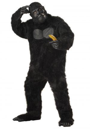 Fantasia de gorila plus size realista – Realistic Gorilla Plus Size Costume Suit