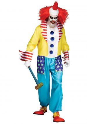 Fantasia de palhaço assassino – Wicked Clown Master Men's Costume