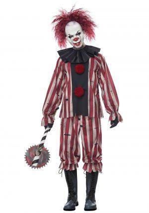 Fantasia de palhaço de pesadelo masculino – Men's Nightmare Clown Costume