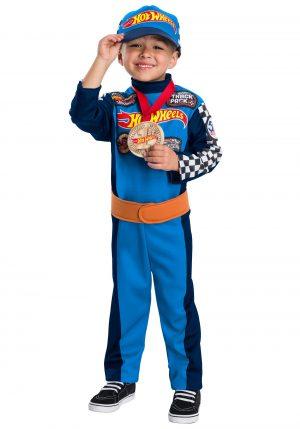 Fantasia de piloto de carro de corrida Hot Wheels- Hot Wheels Race Car Driver Boy's Costume