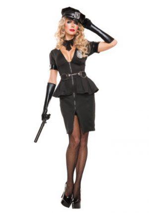 Fantasia de policial feminino – Women's Elegant Cop Costume