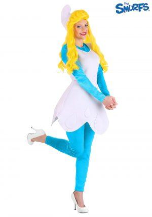 Fantasia de smurfette feminino dos Smurfs – The Smurfs Women's Smurfette Costume