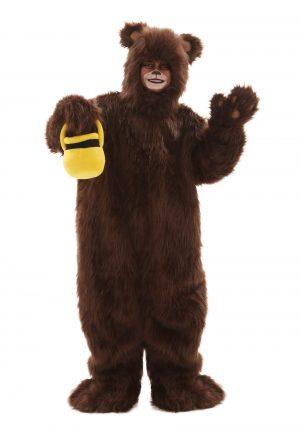 Fantasia de urso marrom – Child Deluxe Furry Brown Bear Costume
