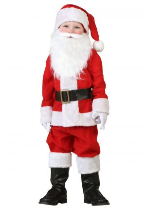 Fantasia do Papai Noel para criança – Toddler Santa Costume