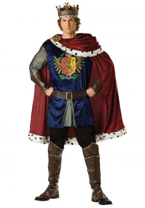 Fantasia do rei nobre – Noble King Costume