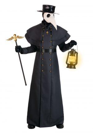 Fantasia doutor da praga – Classic Plague Doctor Costume for Adults