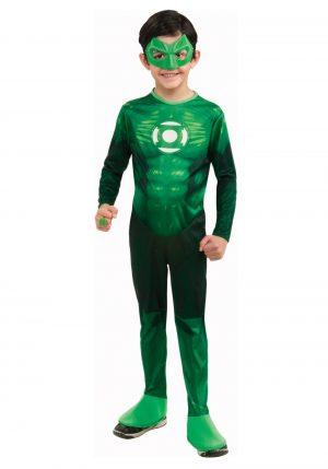 Fantasia infantil de Lanterna Verde- Kids Deluxe Green Lantern Costume