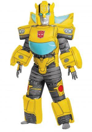 Fantasia inflável Transformers Kids Bumblebee – Transformers Kids Bumblebee