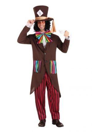 Fantasia masculina do Chapeleiro Maluco – Men's Dark Mad Hatter Costume