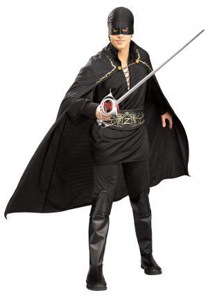 Fantasia masculina do Zorro – Adult Mens Zorro Costume
