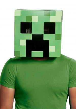 Máscara Minecraft Creeper – Adult Minecraft Creeper Mask