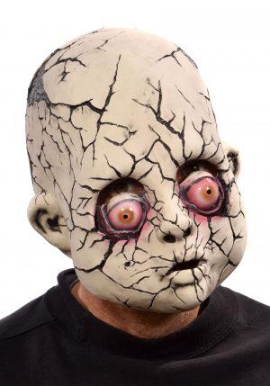 Máscara de boneca quebrada – Adult Broken Baby Doll Mask