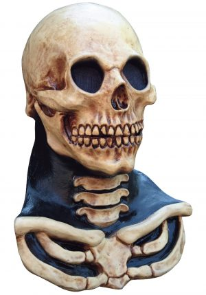 Máscara de crânio de pescoço longo – Long Neck Skull Mask