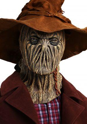 Máscara de espantalho assustador – Scary Scarecrow Adult Mask