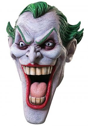 Máscara realista Coringa – Deluxe Joker Mask