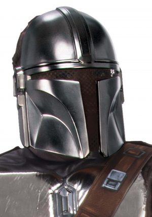 Star Wars: Máscara de Armadura de Mandaloriana Beskar para Adultos