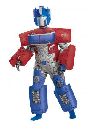 Traje Inflável Optimus Prime Transformes – Transformers Inflatable Optimus Prime Child Costume