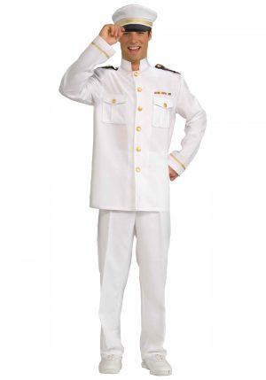 Fantasia de capitão de cruzeiro – Mens Cruise Captain Costume