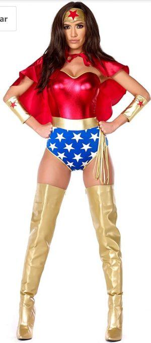 Fantasia Mulher Maravilha Sexy – Super seductive female costume set