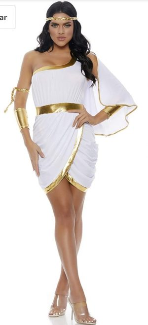 Fantasia de Deusa Grega – Forplay goddess female costume set with immortal beauty