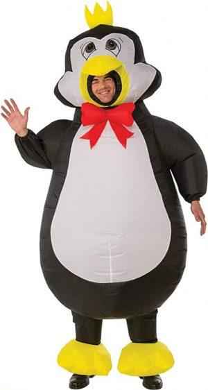 Rubie's Fantasia de pinguim inflável – Rubie's Inflatable Penguin Adult Costume