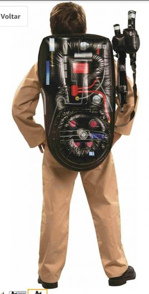 Rubie's  Mochila inflável Ghostbusters – Inflatable Ghostbusters Backpack