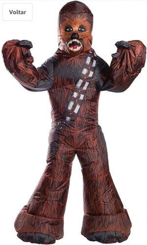 Rubie's Fantasia adulta inflável Chewbacca – Rubie's Inflatable adult costume Chewbacca –