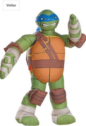 Rubie's Fantasia Inflável Tartaruga Ninja Leonardo – rubie fantasy Teenage Mutant Ninja Turtles inflatable Leonardo fantasy