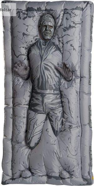 Rubie's Fantasia masculina inflável Han Solo Star Wars em carbonite