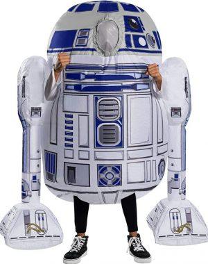 Fantasia infantil inflável R2D2 Star Wars – Inflatable children's costume R2D2 Star Wars