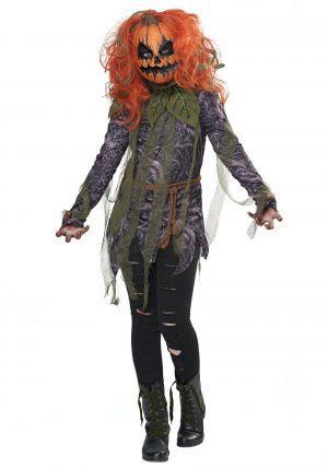 Fantasia de monstro de abóbora para meninas – Girls Pumpkin Monster Costume