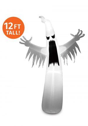 Fantasma inflável de 3,65 m elevado – Inflatable 12ft Towering Ghost
