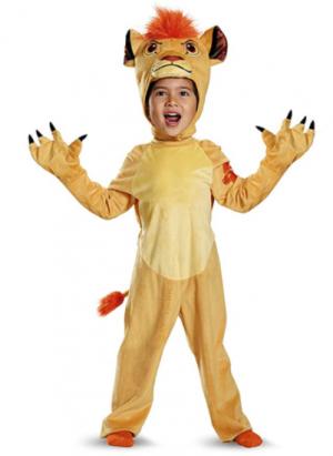Fantasia infantil de luxo do Rei Leão – Deluxe Lion King Children's Costume