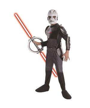 Fantasia Deluxe Infantil Inquisitor Star Wars – Kids Inquisitor Boys Deluxe Star Wars Costume
