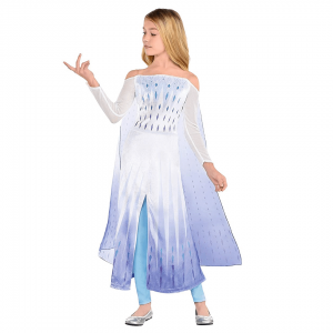 Fantasia Frozen Elsa- Child Epilogue Elsa Costume – Frozen 2