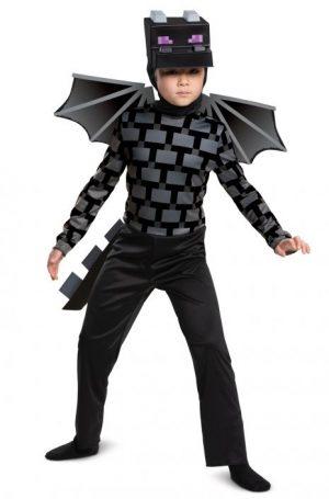 Fantasia Infantil clássico Ender Dragon – Ender Dragon Classic Child Costume
