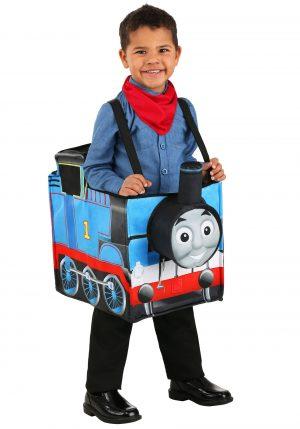Fantasia O menino Thomas, o trem, anda fantasiado – Child Thomas the Train Ride in Costume