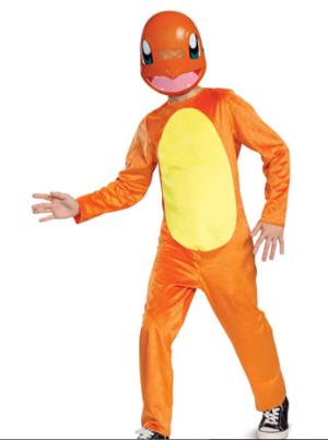 Fantasia Pokemon Charmander – Pokemon Charmander Children's Costume
