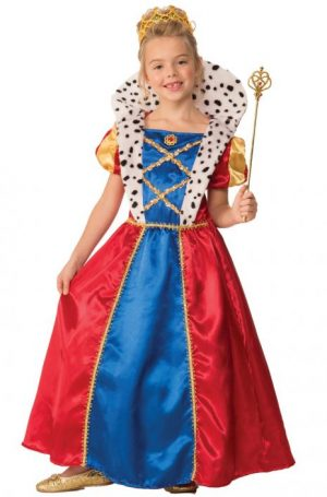 Fantasia Rainha real – Royal Queen Child Costume