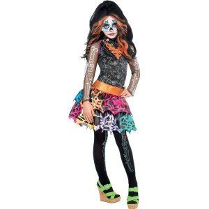 Fantasia Skelita Calaveras Monster High -Skelita Calaveras Monster High