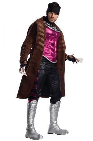 Fantasia de Gambit para Adultos- Gambit Adult Costume