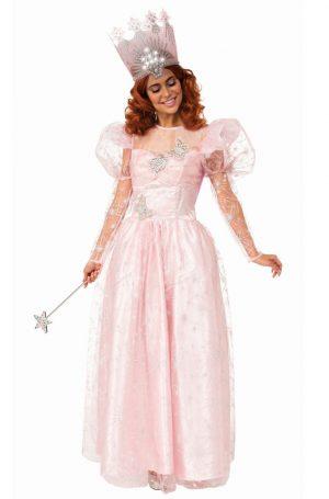 Fantasia de Glinda, a Bruxa Boa – Glinda the Good Witch Adult Costume