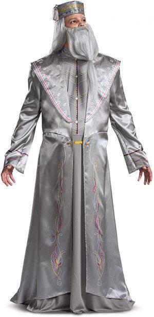Fantasia de Harry Potter Dumbledore para homens – Harry Potter Dumbledore costume for men
