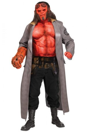 Fantasia de Hellboy para adultos – Hellboy Adult Costume