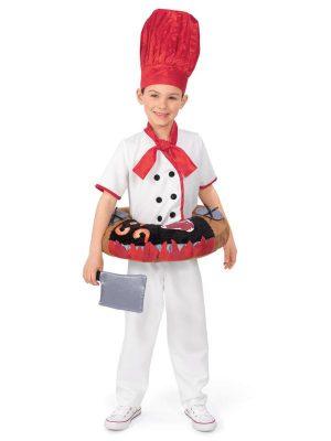 Fantasia de Hibachi Chef – Child Hibachi Chef Costume