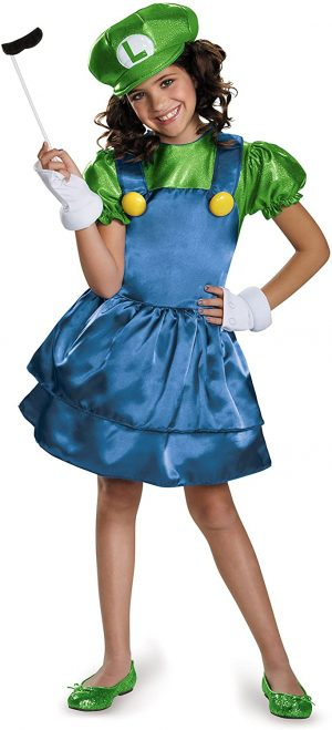 Fantasia de Luige para Meninas  – Luige Costume for Girls