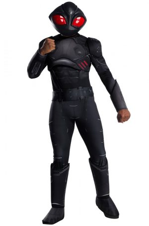 Fantasia de Manta Negra para Adultos Deluxe – Black Manta Deluxe Adult Costume